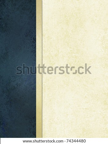 book cover or white background with dark blue background side bar for ...