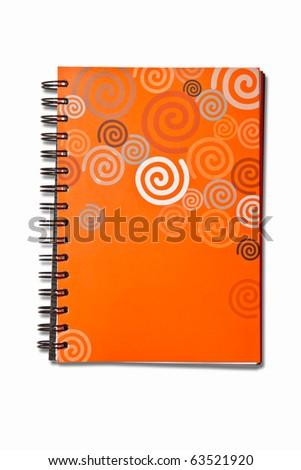 book cover orange