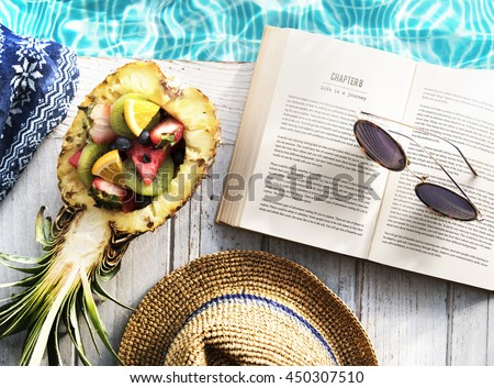 Book Fruits Poolside Concept #450307510