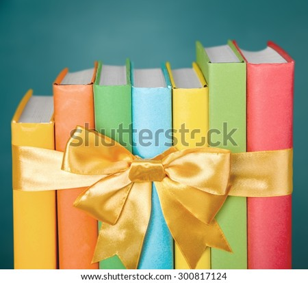 Book, Gift, Stack.