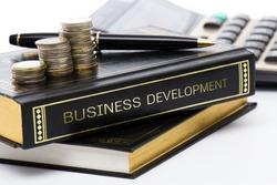 Book of business development on business desk