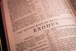 Book of Exodus of the Holy Bible, Old Testament