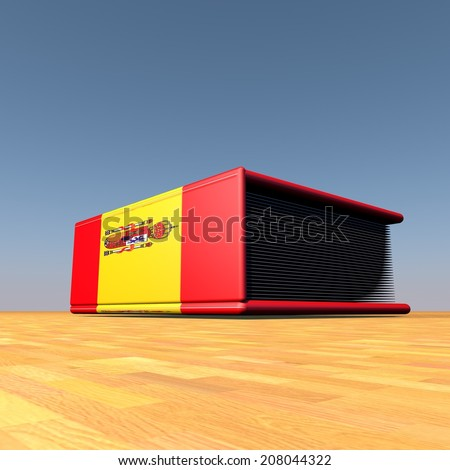 stock-photo-book-with-spanish-flag-on-cover-d-render-208044322.jpg