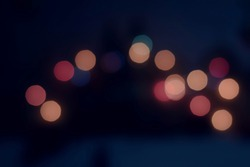 Bookeh effect.Colorful new year bokeh background.texture background.