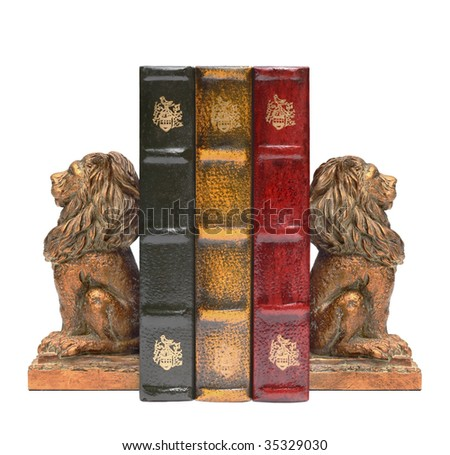 Bookends and books