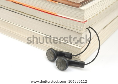 Books and ear plugs