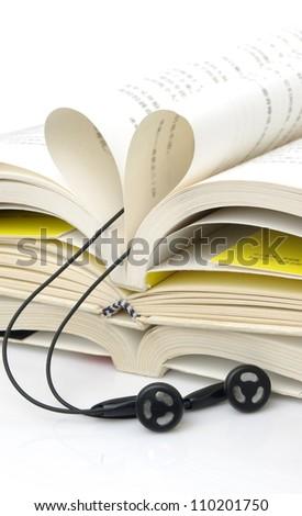 Books and ear plugs
