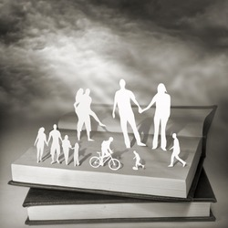 Books For Everyone. Conceptual photography.