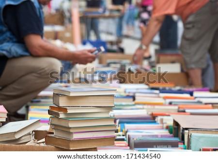 Shutterstock books on antiques fair