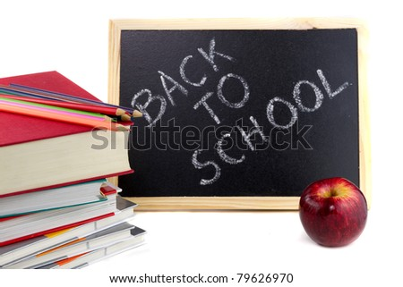 Books ready for back to school