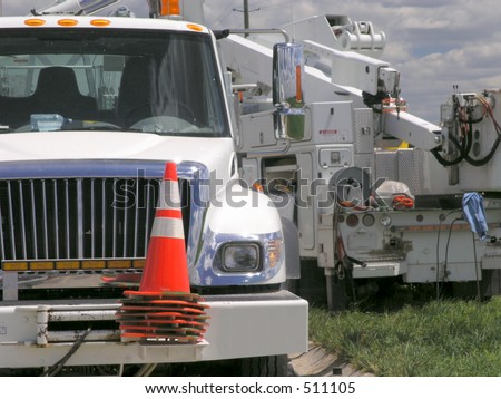 Boom Truck - Electric Utility Work