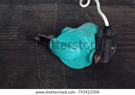 Booster pump to increase and stabilizing the pressure in the pipes.