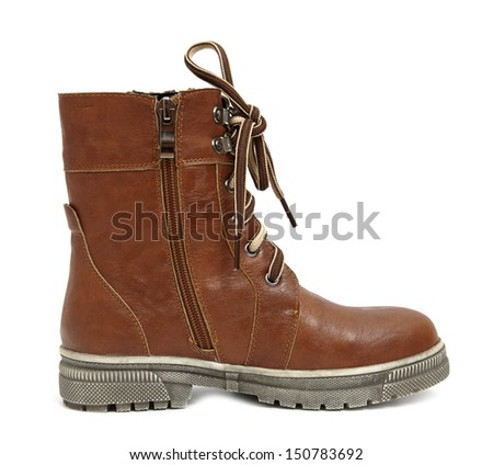 Boot isolated on white background