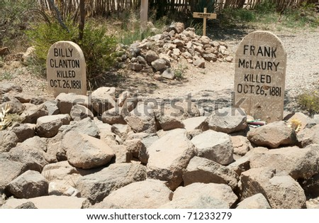 Boothill Graveyard - stock photo