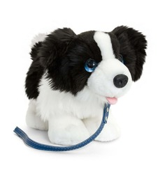 Border Collie dog soft toy