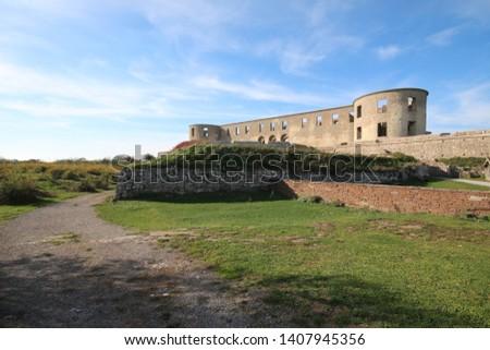 Borgholm caste oland sweden fortress