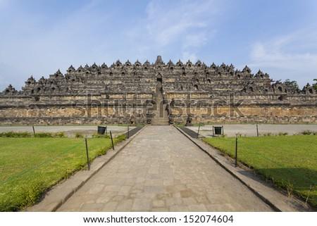 Borobudur temple Yogyakarta Java Indonesia