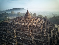 Borobudur world biggest Buddhist Holy site in the world