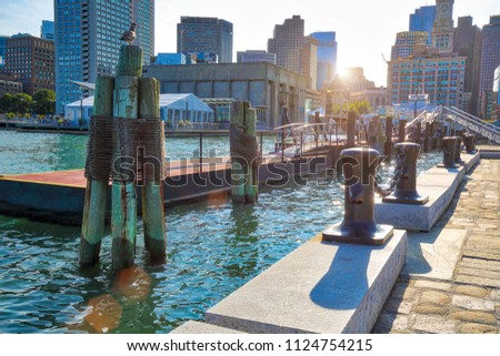 Boston Harbor and harbor boat tours
