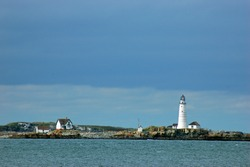 Boston Harbor Light, one of the oldest lighthouses in America