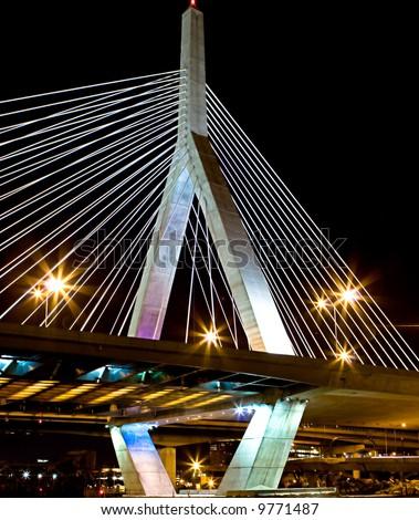 Boston's Leonard P Zakim Bridge