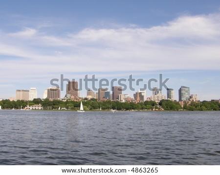 Boston's Skyline (USA)