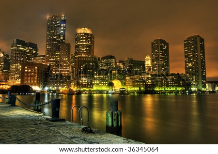 Boston: View from Fan Pier.