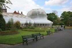 Botanic gardens in Belfast, Ireland