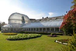 Botanic Gardens in Belfast, United Kingdom, Europe
