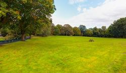Botanic Gardens with green grass field Belfast - Northern Ireland