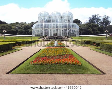 botanical garden - Curitiba - Brazil - stock photo