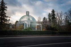 Botanical Garden Greenhouse - Geneva, Switzerland
