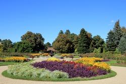 Botanical garden in Niagara Falls, Canada