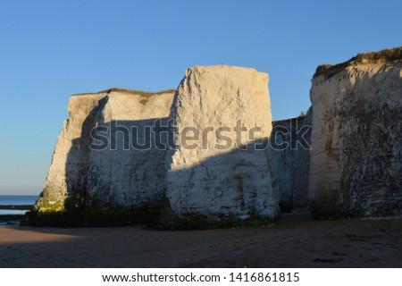 Botany Bay in Broadstairs UK Cliffs #1416861815