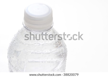 Bottled Water with Condensation
