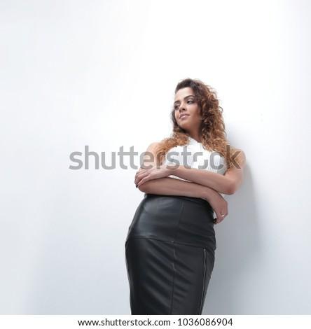 bottom view.modern business woman #1036086904