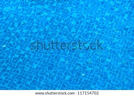 bottomed pool mosaic abstract background