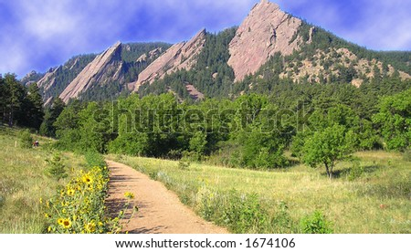 Boulder Colorado Hiking Trail