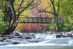 Boulder Creek long exposure shot