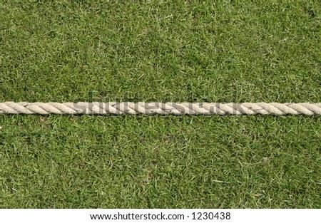Boundary rope