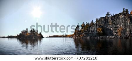 Boundary Waters Panorama #707281210