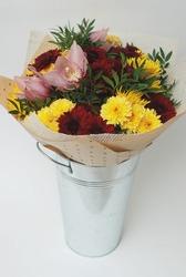 Bouquet of Autumn Flowers.