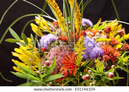 bouquet of colorful flowers #101546104