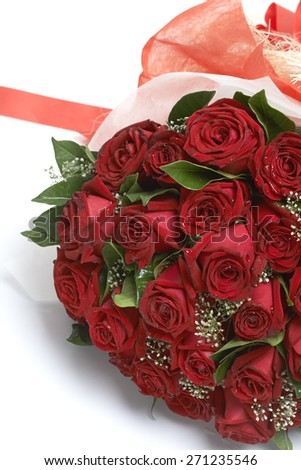 Bouquet of red roses #271235546