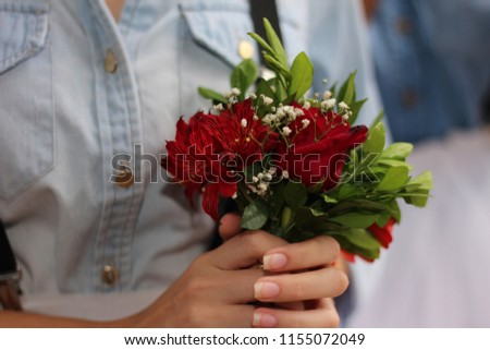 bouquet wedding rose #1155072049