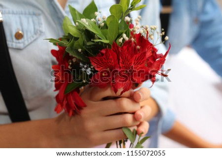 bouquet wedding rose #1155072055