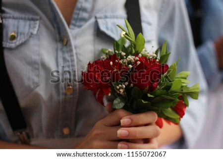 bouquet wedding rose #1155072067