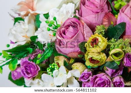 bouquet with an artificial flower. #564811102