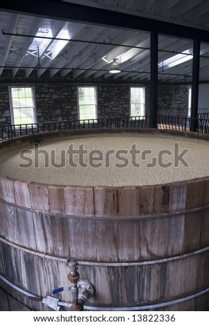 Bourbon Distillery - stock photo