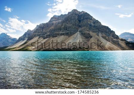 Photo of Bow Lake , Banff National Park, Alberta, Canada